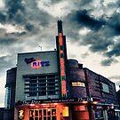 Ritz Bingo Neon  by Richard Jackson