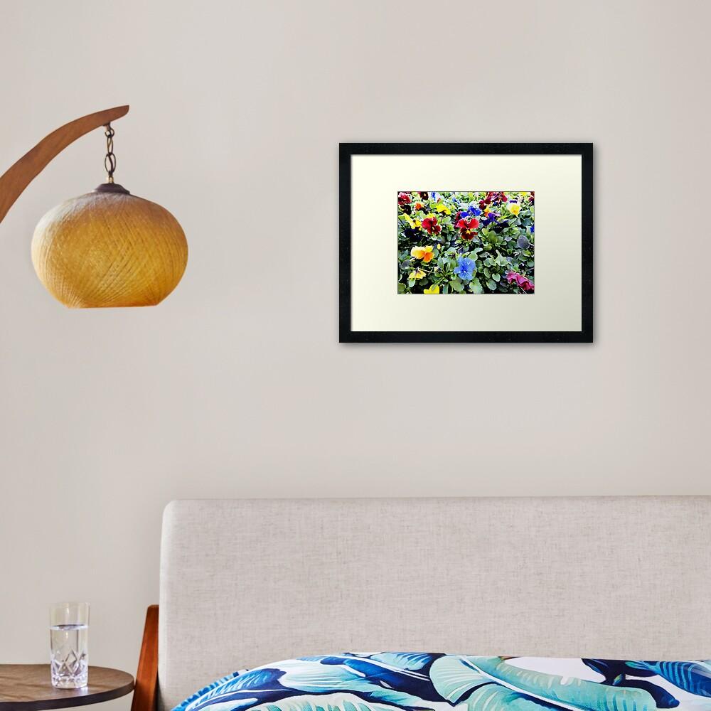 Bunches! Framed Art Print