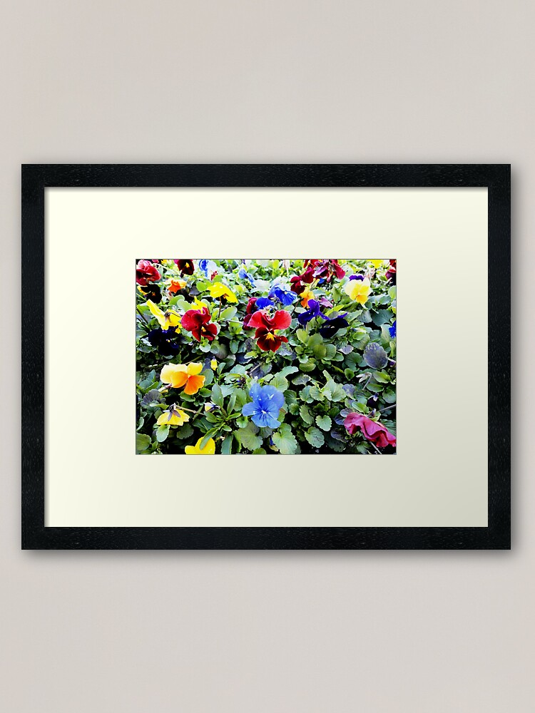 Alternate view of Bunches! Framed Art Print