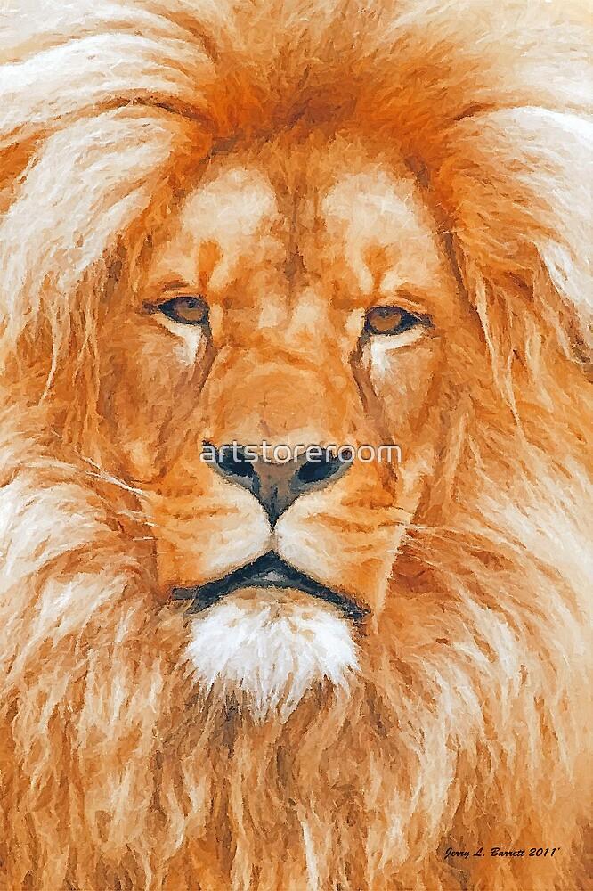 Old Lion by artstoreroom