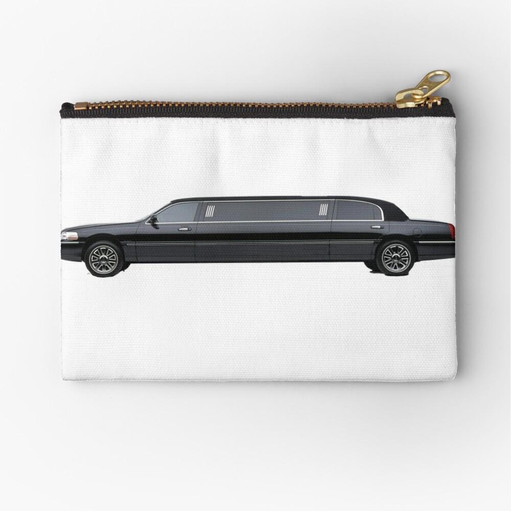 Limousine Zipper Pouch