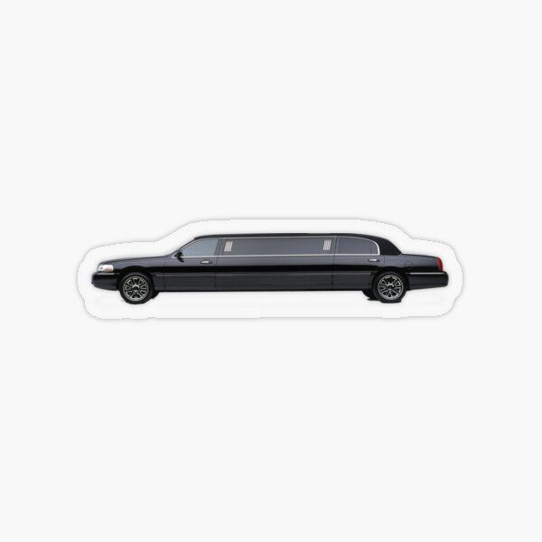 Limousine Transparent Sticker