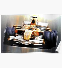 Formula One Poster