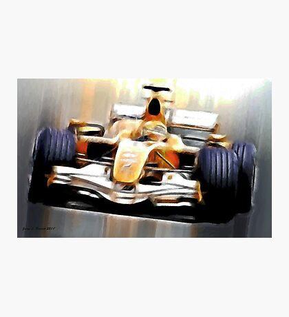 Formula One Photographic Print