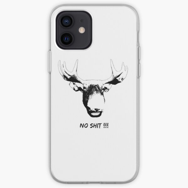 Moose No Shit iPhone Soft Case