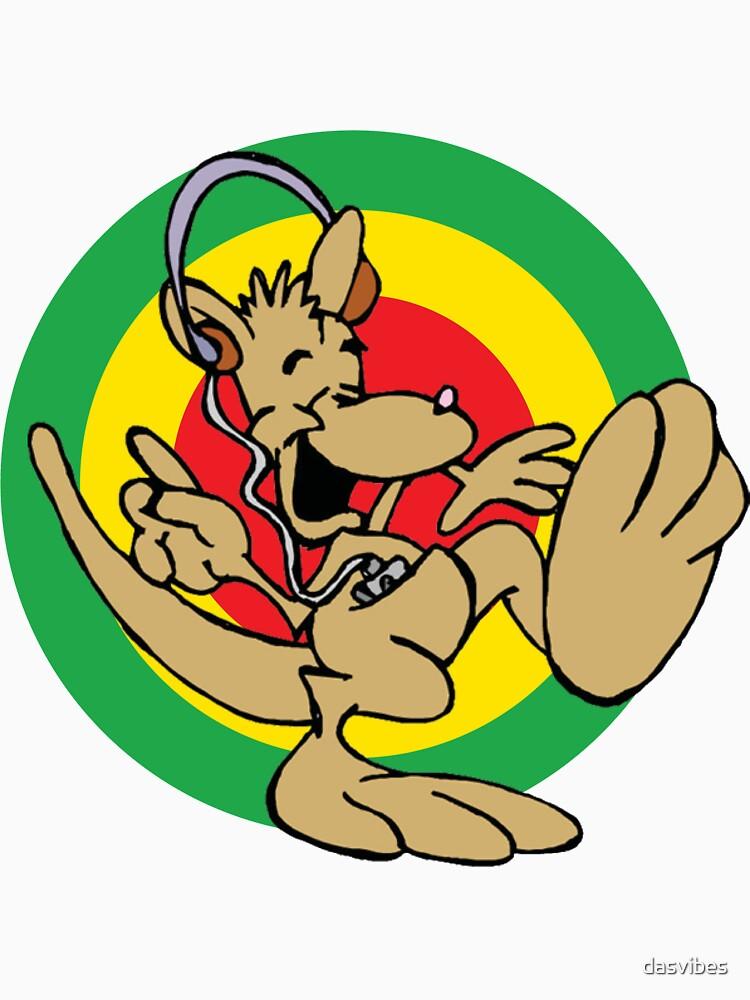 Dancehall Reggae Australia Kangaroo by dasvibes