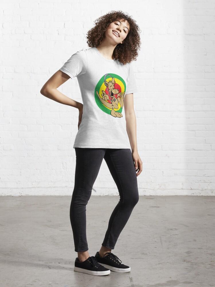 Alternate view of Dancehall Reggae Australia Kangaroo Essential T-Shirt