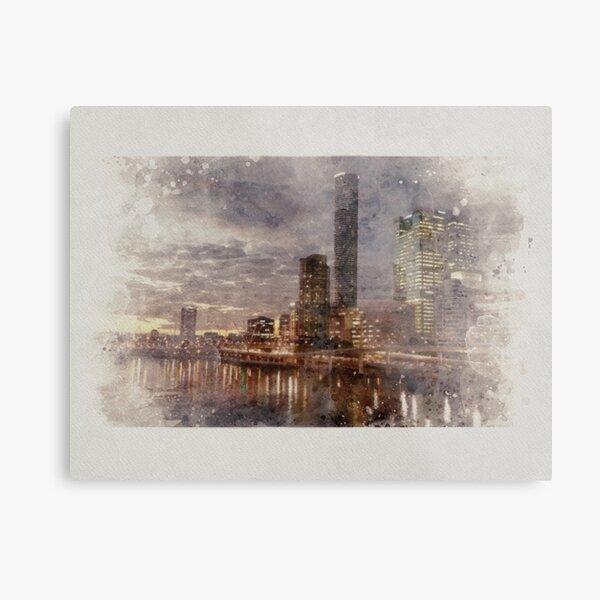 Brisbane Riverscape Metal Print