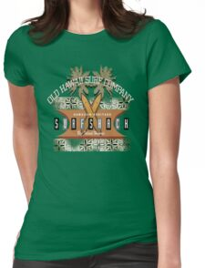 OLD HAWAII SURF COMPANY Womens Fitted T-Shirt