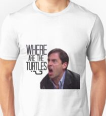 Michael Scott - Where Are the Turtles? Unisex T-Shirt