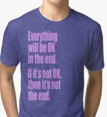 EVERYTHING PINK Tri-blend T-Shirt