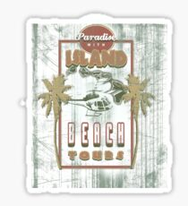 PARADISE TOURS Sticker
