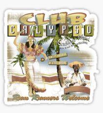 CLUB CALYPSO Sticker