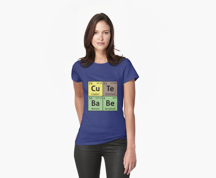 Periodic Table - Cute Babe by destinysagent