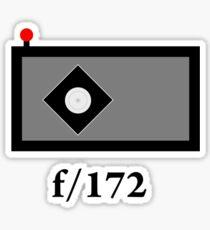 pinhole Sticker