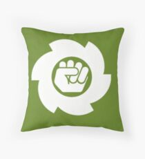Blank Logo Throw Pillow