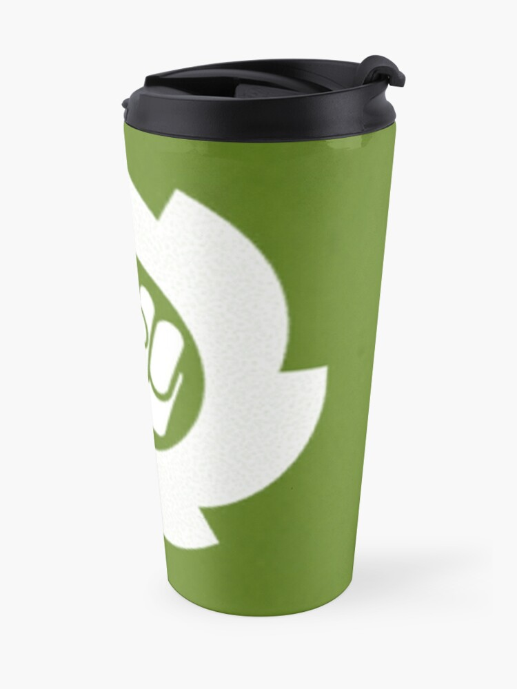 Alternate view of Blank Logo Travel Mug