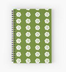 Blank Logo Spiral Notebook