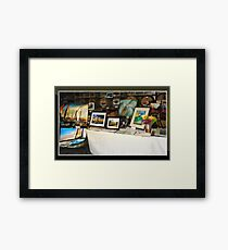 ART SELLER, FAIRFIELD CA Framed Print