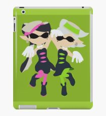 Callie & Marie (Green) - Splatoon iPad Case/Skin