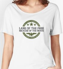 Land of the Free Women's Relaxed Fit T-Shirt