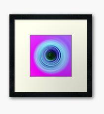 Lavender Blue Framed Print