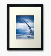 Sonic Arc Arrows. Framed Print