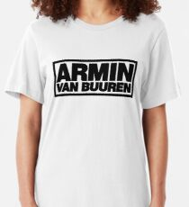 Best Seller - Armin Van Buuren Logo Merchandise Slim Fit T-Shirt