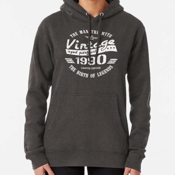 Vintage 1991 - 30th Birthday Gift For Men Pullover Hoodie