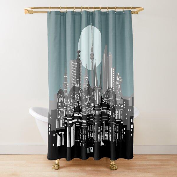 berliner skyline Duschvorhang