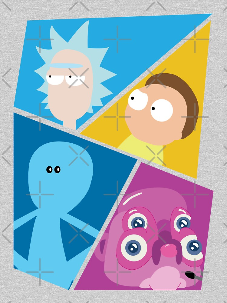 Rick and Morty Characters by rainbowdreamer