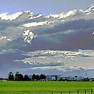 The Prairie near Claresholm by Jann Ashworth