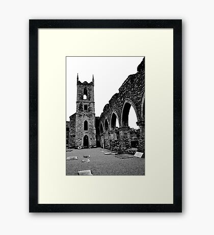 Balltinglass Abbey Co Wicklow, #4 Framed Print