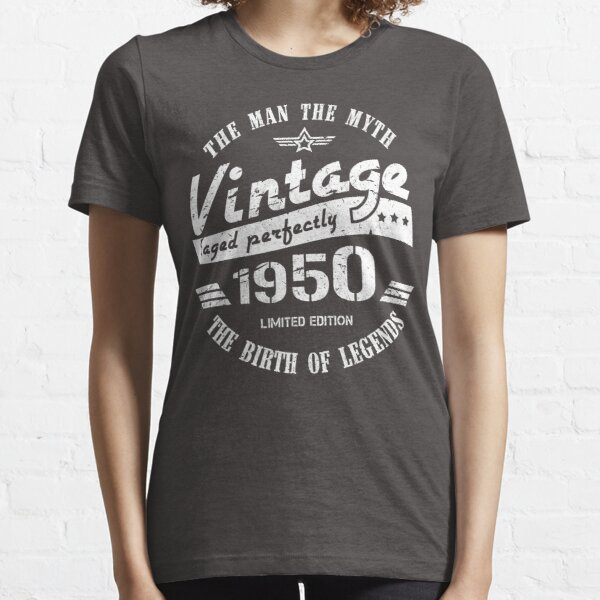 Vintage 1950 - 70th Birthday Gift For Men Essential T-Shirt