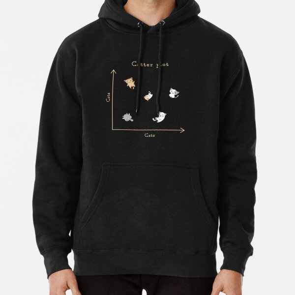 Catter plot Pullover Hoodie