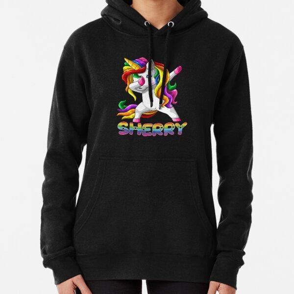 Sheri Cherry Text Hoodie Sweatshirt