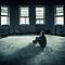 One Person Alone In A Dilapidated Building