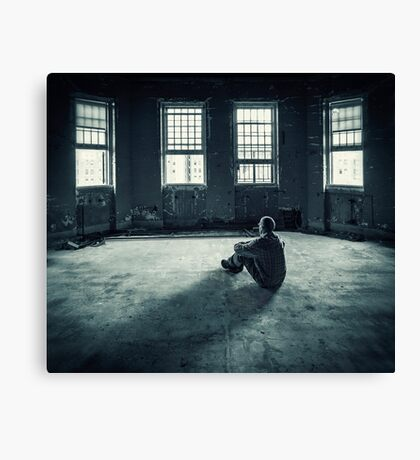 Inside My Darkness Canvas Print