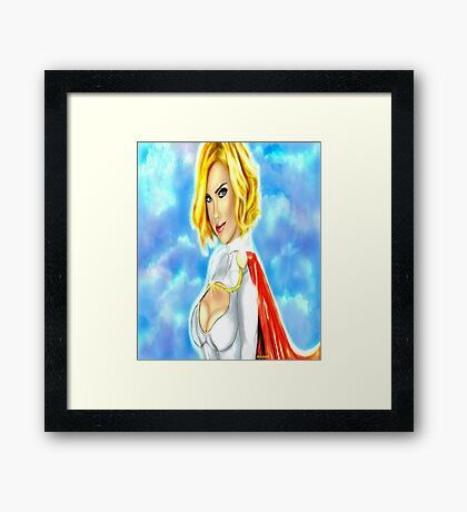 Strength in the Skies Framed Print