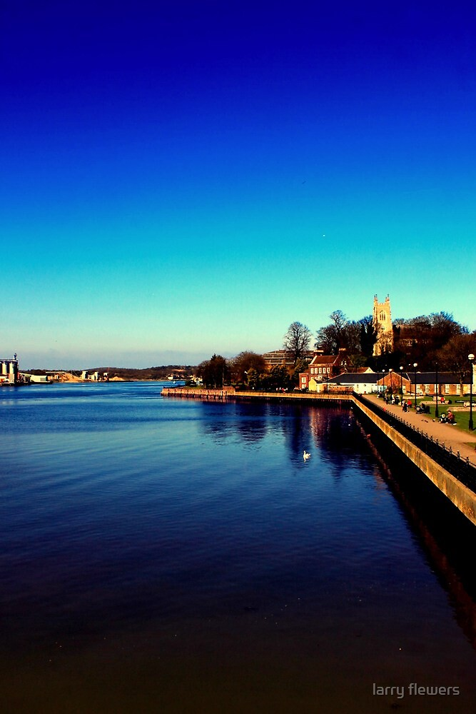 River Medway  by larry flewers