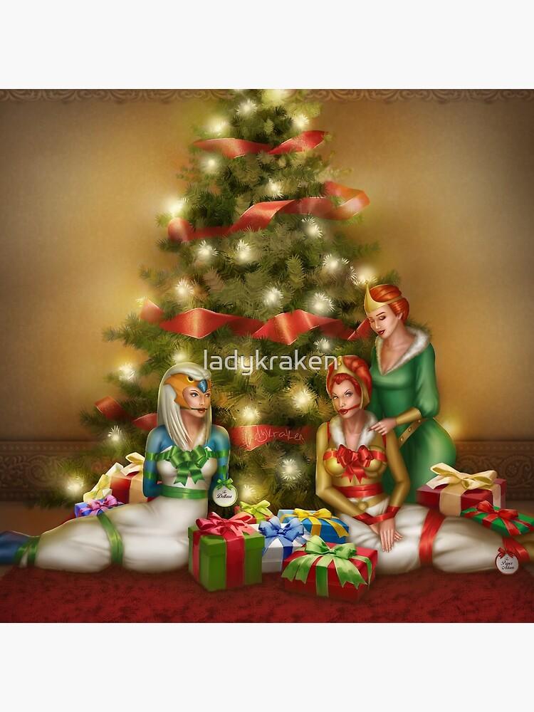 Christmas Princess Presents by ladykraken