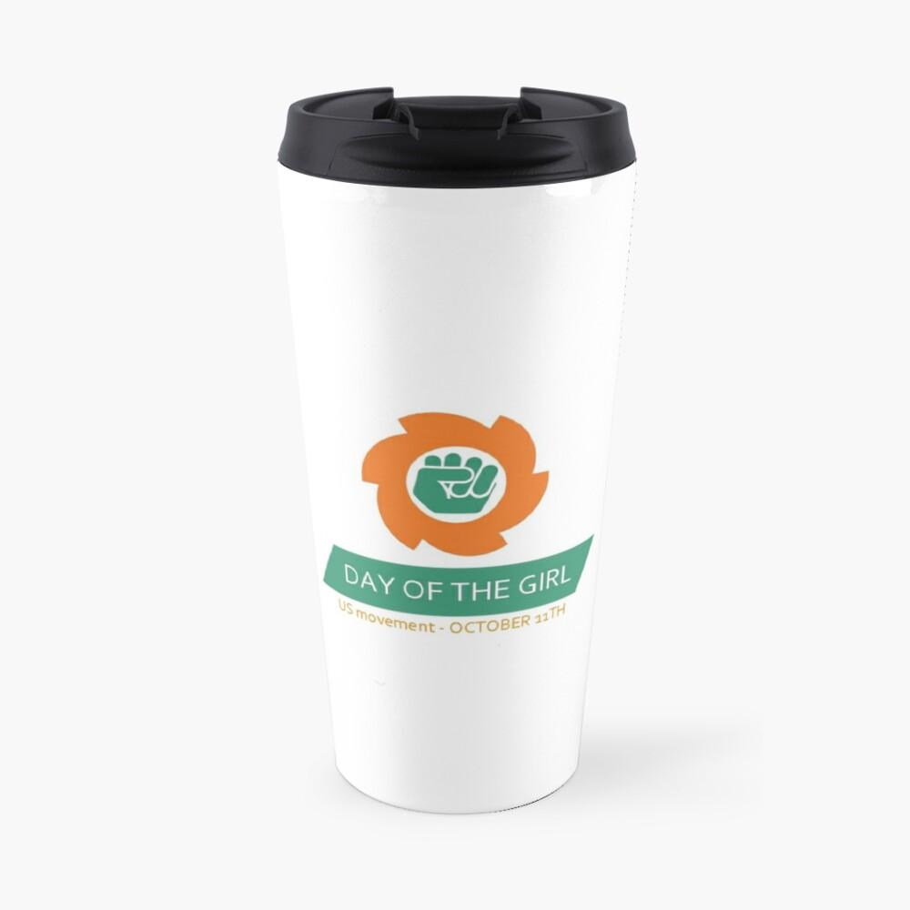 Full Logo & Title Vertical Travel Mug