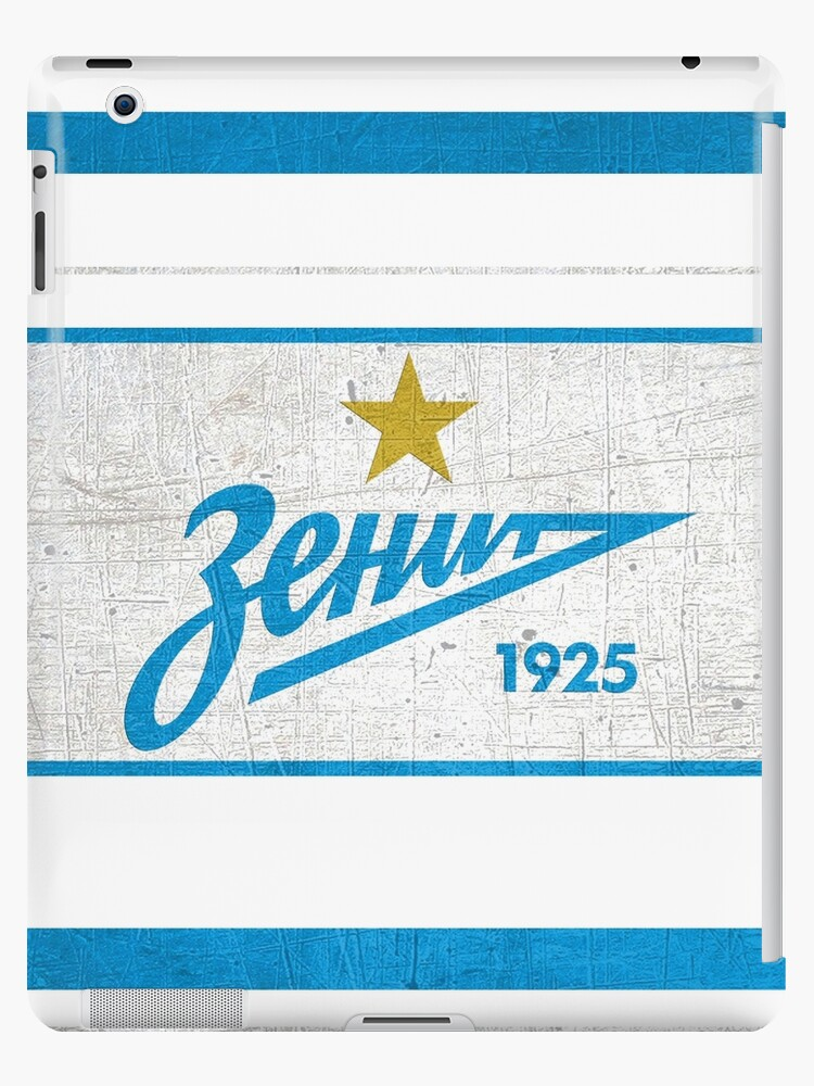 Zenit St Petersburg Sport Fans Ultras Hooligans Ipad Case Skin By Thestarrysky Redbubble