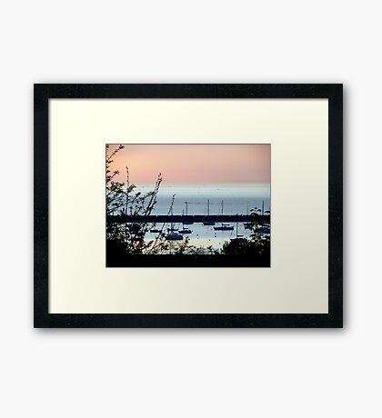 Milwaukee at sunrise © Framed Print