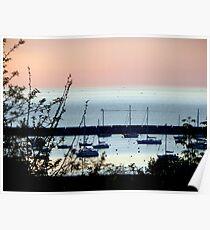 Milwaukee at sunrise © Poster