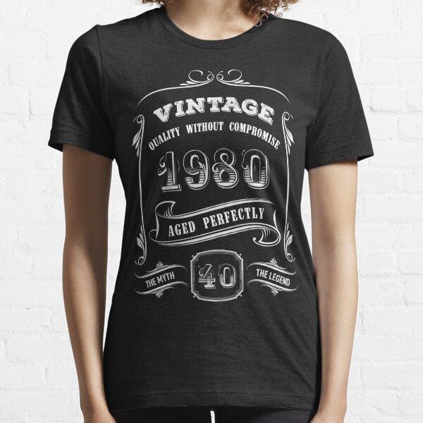 Vintage 1980 - 40th Birthday Gift Idea Essential T-Shirt