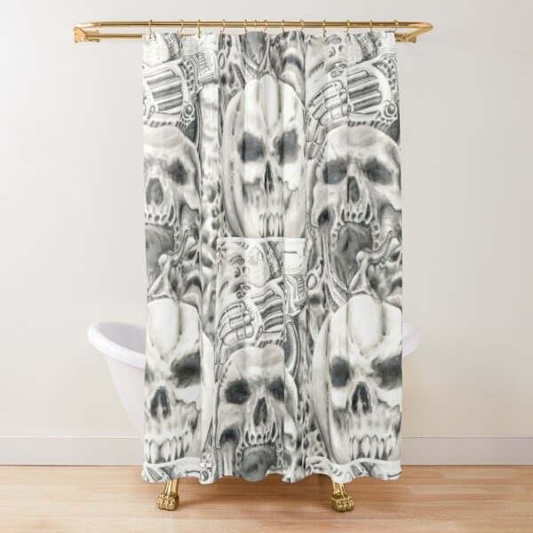 01. Legacy Artist Meyers untitled Shower Curtain