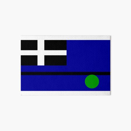 Flag of Tangier Island, Virginia Art Board Print