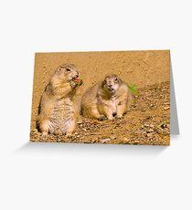 Dynamic duo Greeting Card