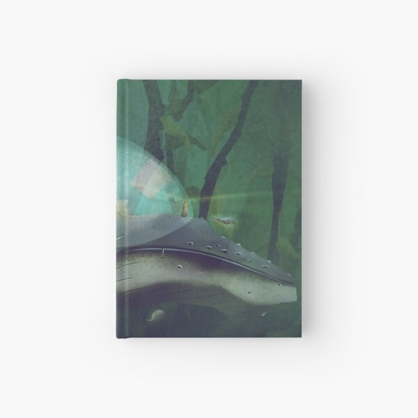 Whaleland Hardcover Journal